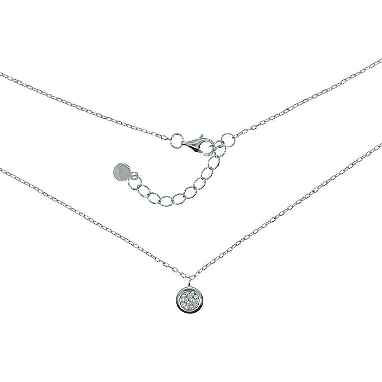 Halsband i silver från Catwalk Jewellery