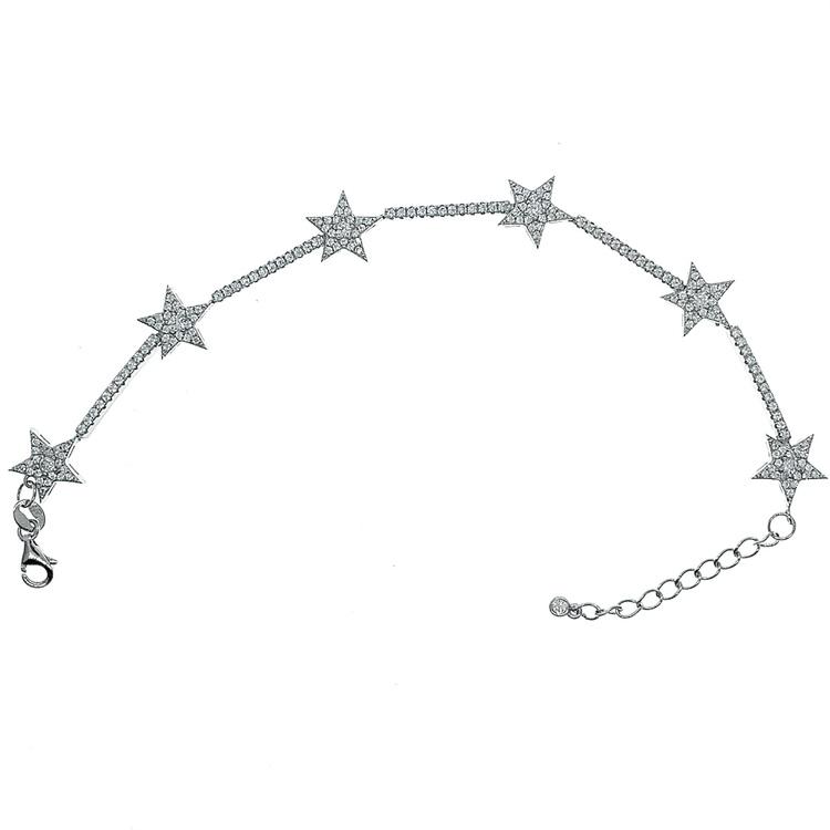 Armband Sparkling Star Silver