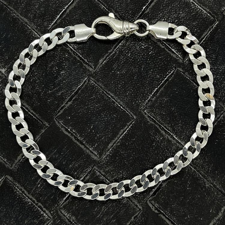 Pansararmband i 925 silver - 5,7 mm