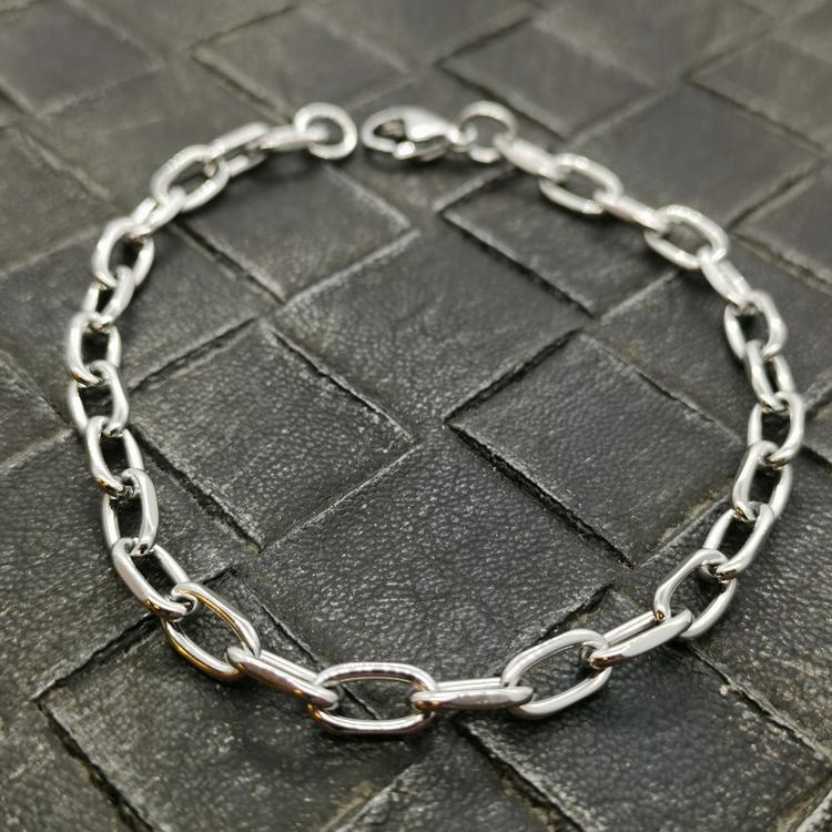 snygg ankararmband för herr i stål från catwalksmycken