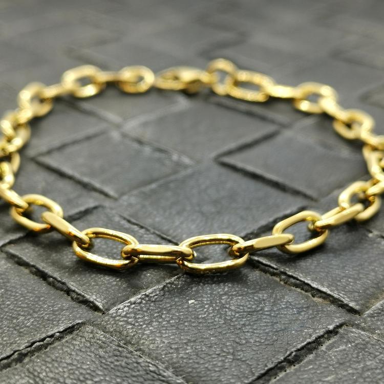Armband Ankar Förgyllt steel - 6 mm