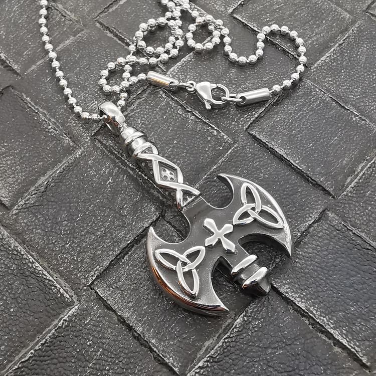 silverhänge med silverkedja till honom från Catwalk Jewellery