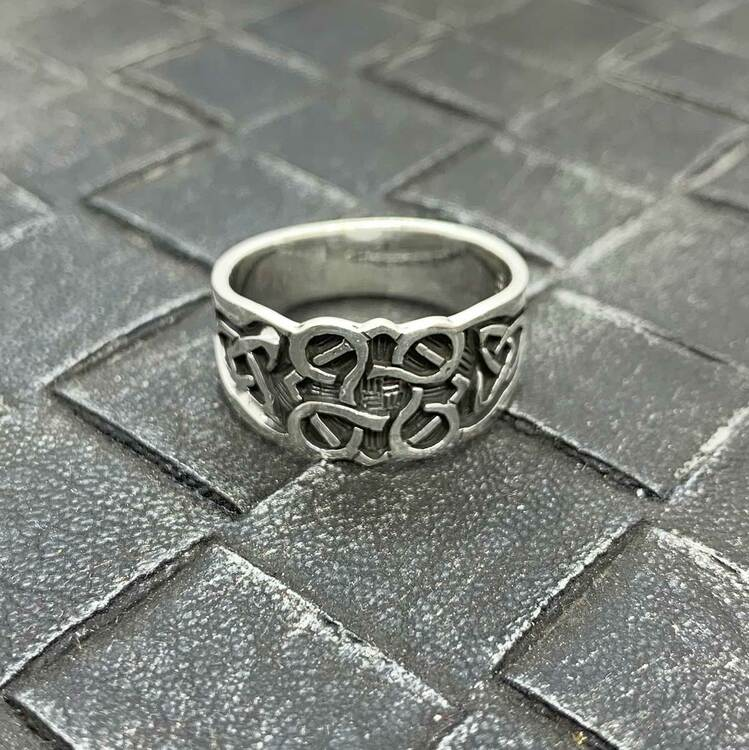Ring Details Oxiderat Silver