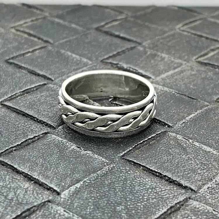 Spinning-ring i 925 silver