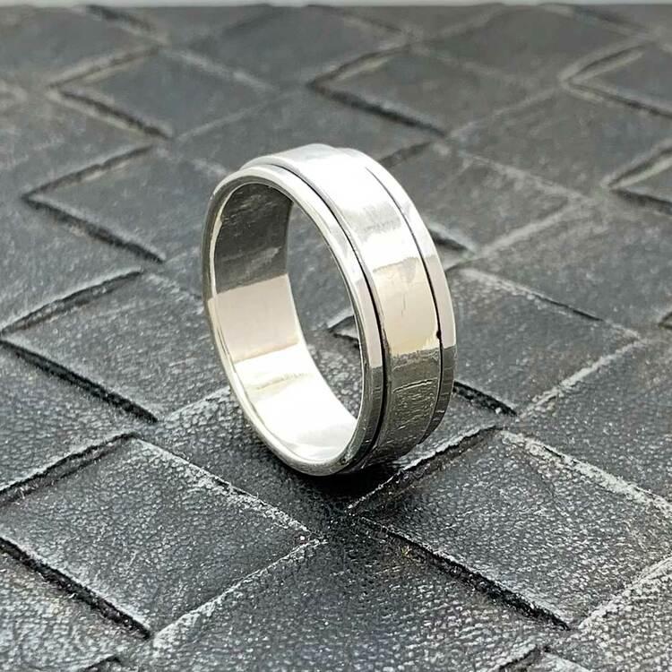 Spinning Ring Silver