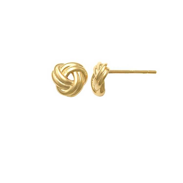 Örhängen Knot 18K Guld