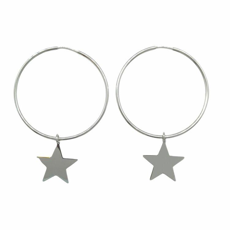 Creoler Star Rhodinerat Silver