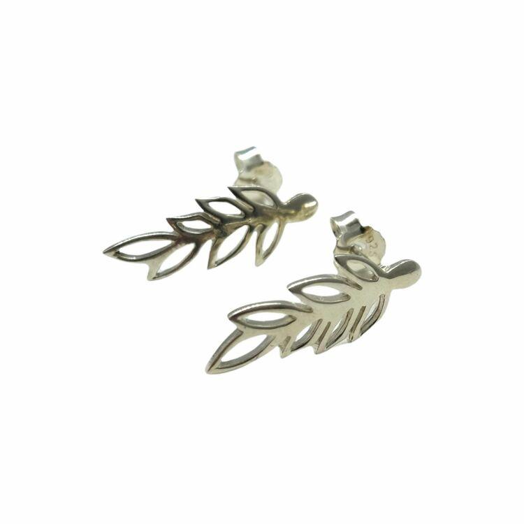 Örhängen Leaf Silver