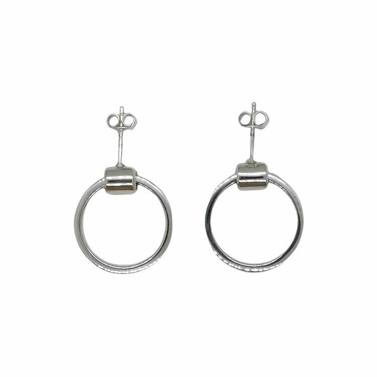 Örhängen Loose Ring Silver