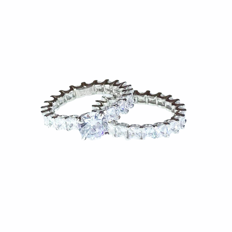 Ring Twin Silver