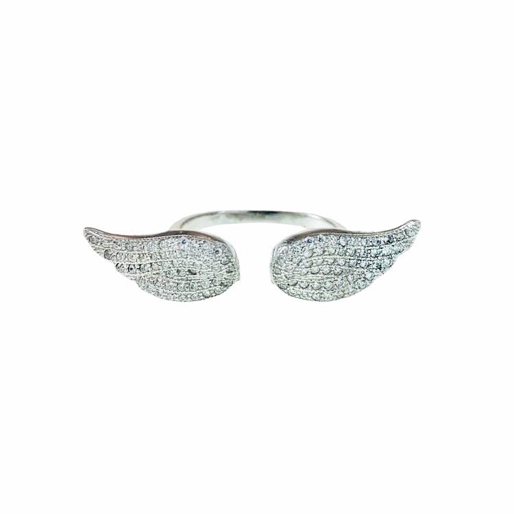 stilren silverring ring i silver med stenar till tjej från catwalksmycken