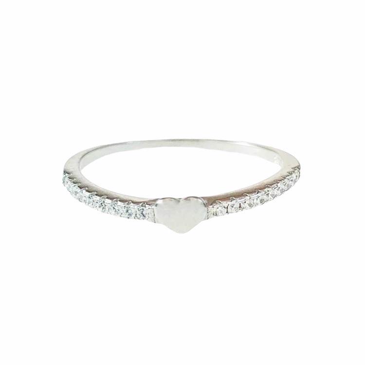 snygg ring i silver till tjej från catwalksmycken