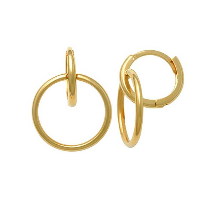 Creoler Double Rings 18K Guld