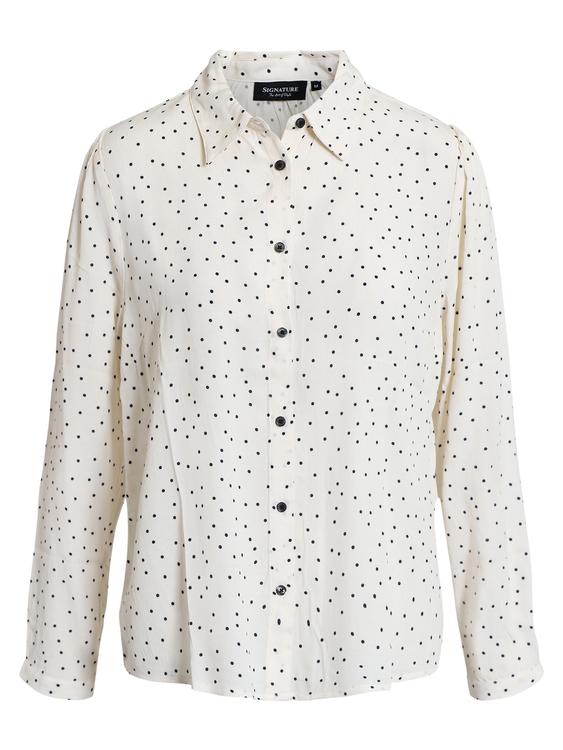 Prickig skjortblus