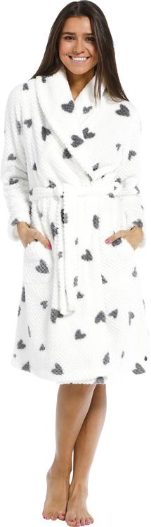 Morgonrock i fleece