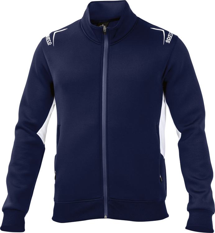Sparco Club Full zip Sweatshirt - Mörkblå