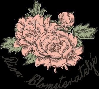 Pion Blomsterateljé logo