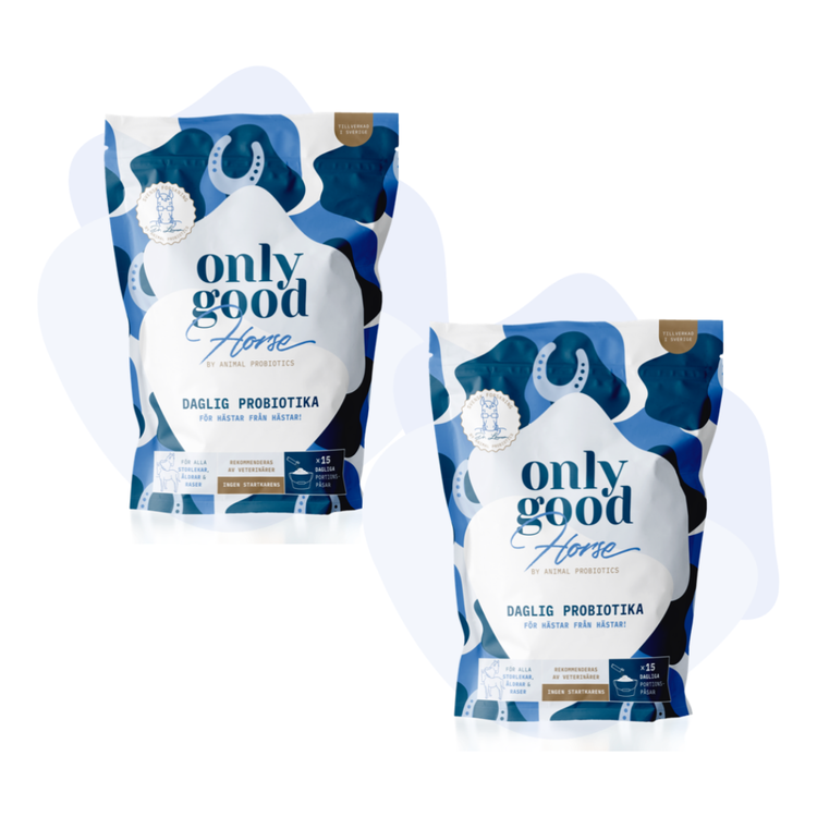 OnlyGoodHorse - Paket med 2 påsar