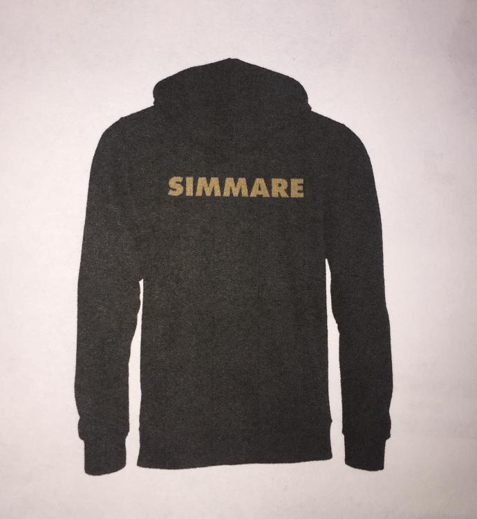 """Huvtröja med """"SIMMARE"""" på ryggen"""