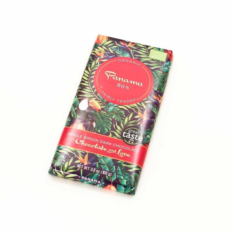 Chocolate and Love Panama 80%, ekologisk