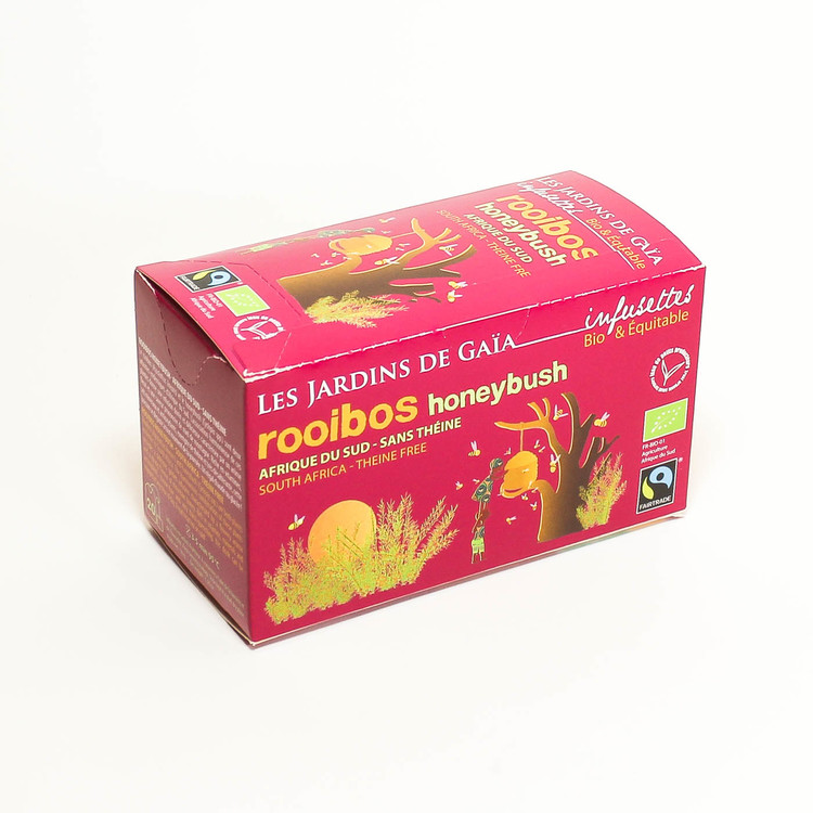 Rooibos Honeybush, ekologiskt påste