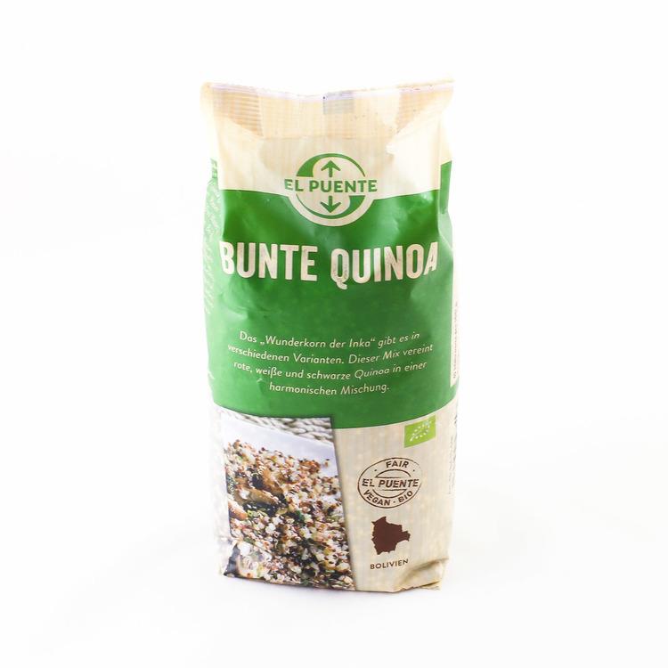 Quinoa mix röd/svart/vit, ekologisk