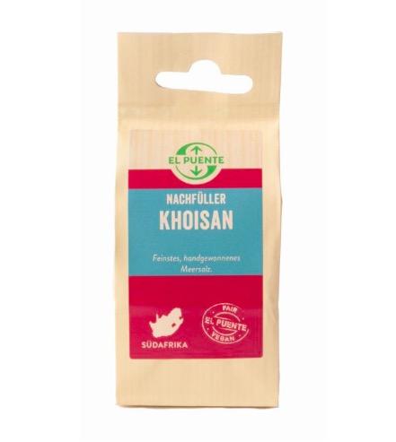 Khoisan Havssalt, flingor, oraffinerat, refill, 150 g