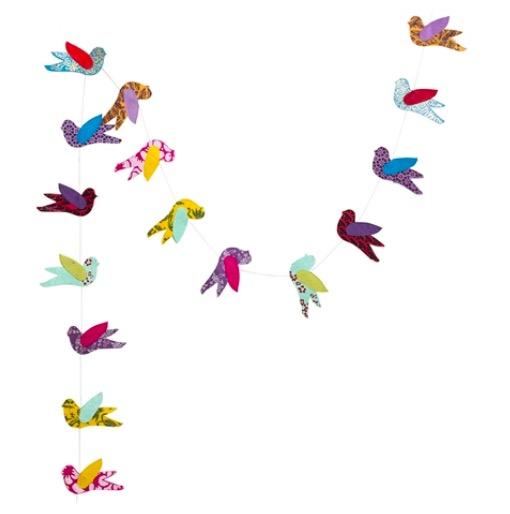 Girlang, Birds, loktapapper,  Afroart