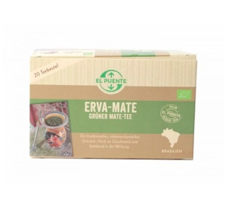 Erva mate ekologiskt påste, grönt mate utan tillsatser. Fair Trade från små kooperativ i Brasilien