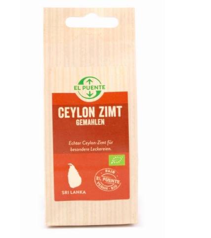 Äkta kanel från Ceylon/Sri Lanka. Ekologisk. Mer hälsosam än kassiakanelen. Fair Trade.