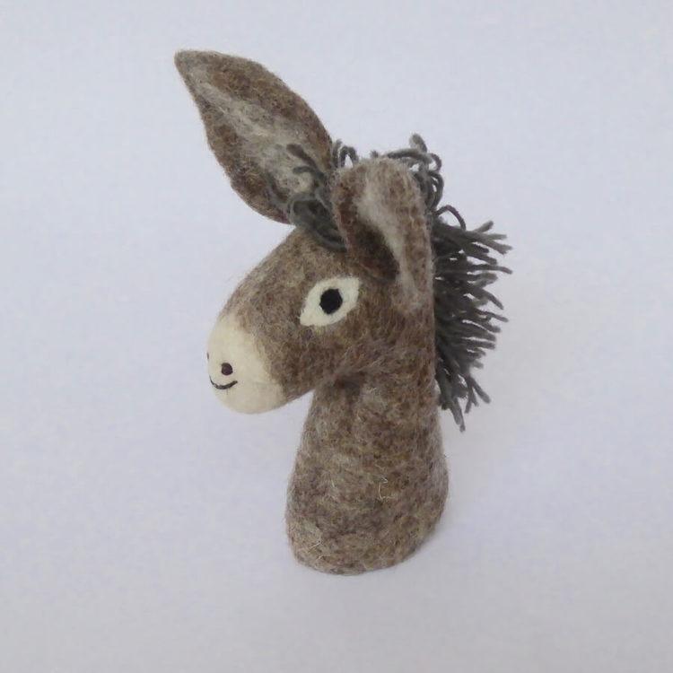 Äggvärmare, docka 'Lilla ponnyn', handtovad