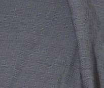 Elegant tunn sjal eller scarf i mönstrad grå färg. Detaljbild. Handvävd. Ekologisk sojafiber. Fair Trade.