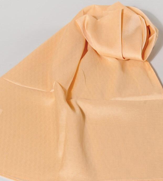 Sjal, scarf, ekologisk sojafiber, mönstrad sand