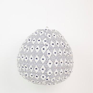 Lampskärm 'Starpoint', Afroart