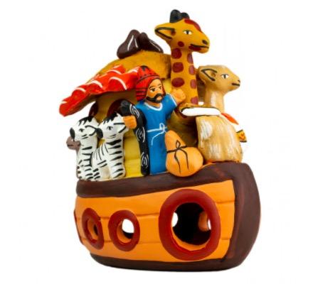 Noaks ark, keramik, Peru, Fair Trade