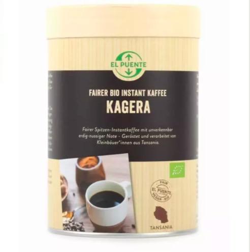 """""""Kagera"""" ekologiskt snabbkaffe, 120g, Fair Trade"""