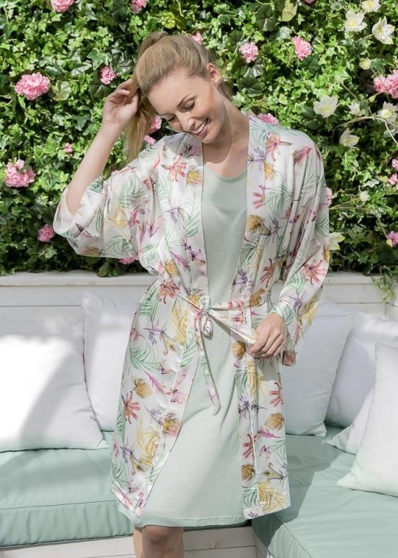 Kimono i satin