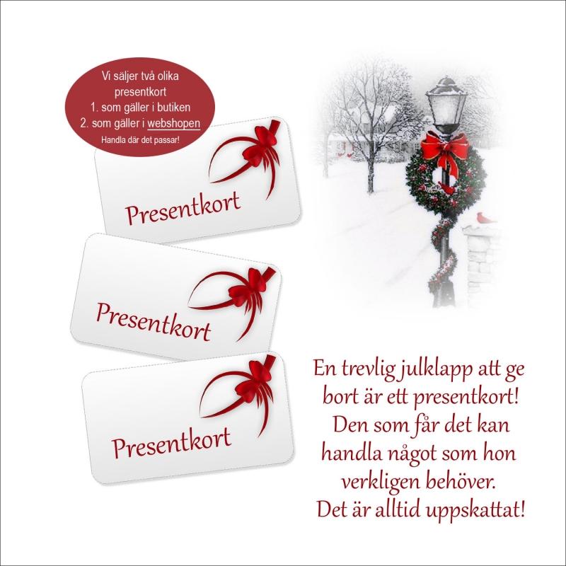 Presentkort underkläder online