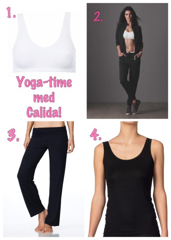 Bra Yoga-prdukter från Calida!