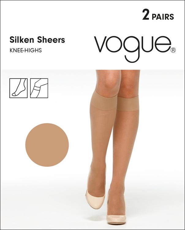 Vogue Silken Sheers knästrumpa 33794 / 97000