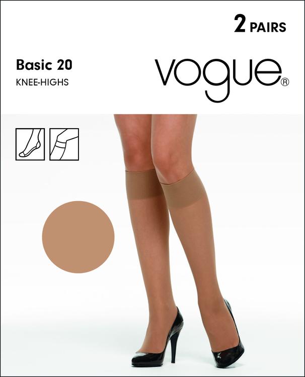 Vogue Basic Knä 33747