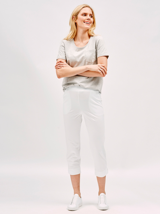 Nanso leggings 7/8 längd vita 25128 / 1000