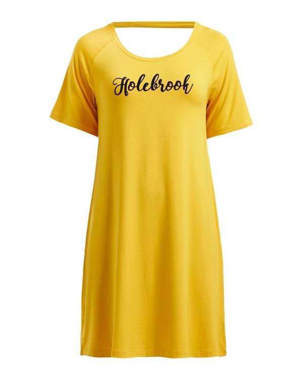Holebrook Bianca Raglan Dress 912610 marigold