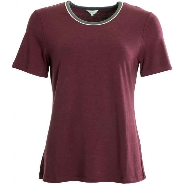 Lady Avenue t-shirt bambu 75-1012 / Wine 114