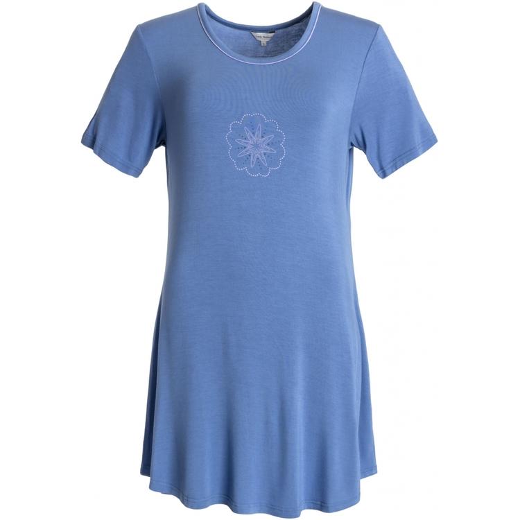 Lady Avenue Bigshirt 66-202 / Blue
