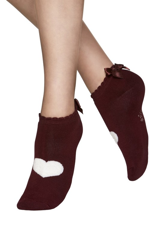 Vogue Sneaker Steps Love Teddy 96261 ruby wine