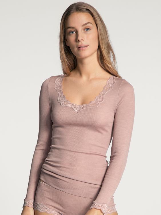 Calida topp ull silke Richesse Lace 15990 / 292
