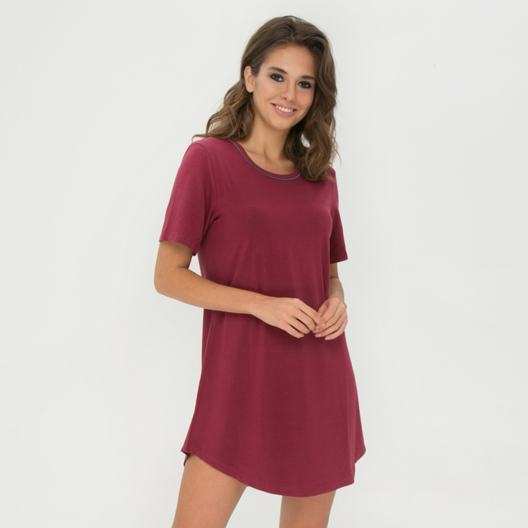 Lady Avenue Bigshirt 75-1050 / 136 rhododendron