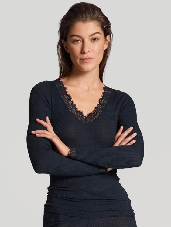 Calida Silky Wool Joy långärmad topp i ull o silke 15823 / 339