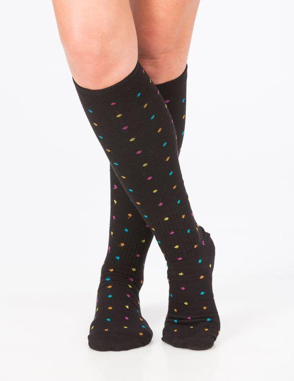 Trofé Support socks knä 01601 1200 svartprick